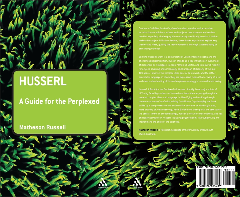 """Matheson Russell, """"Husserl: A Guide for the Perplexed"""" — by Matthew Boss"""