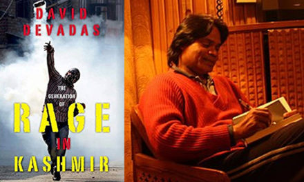 Book Review: David Devadas' The Generation of Rage in Kashmir (Oxford University Press, 2018) — by Sohini Chatterjee
