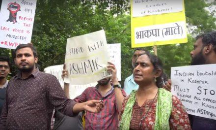 Kavita Krishnan on the Revocation of Articles 370 and 35A (Jantar Mantar Protest)
