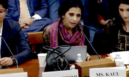 Professor Angana Chatterji Testifies About Kashmir Before the United States Congress