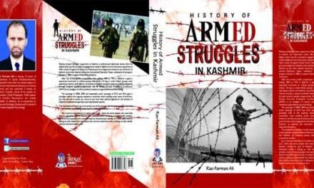 Review of History of Armed Struggles in Kashmir by Rao Farman Ali — Inshah Malik
