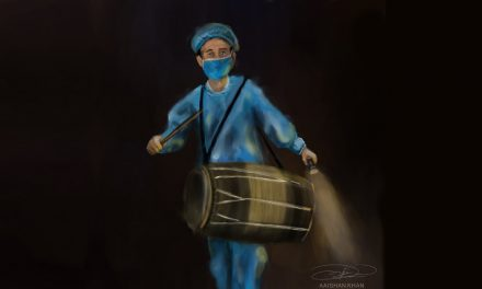 <i>Retourner</i> of a Midnight Drummer — by Mir Seeneen